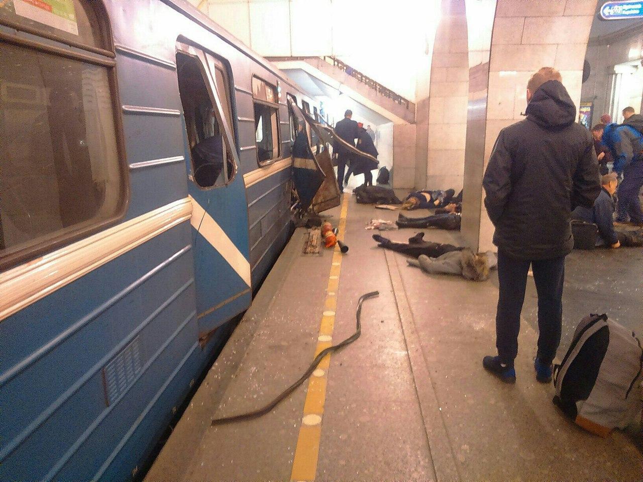15 пассажиров взорвавшегося вагона вметро Петербурга останутся без выплат