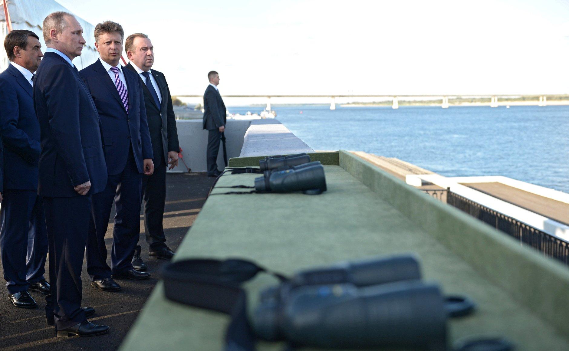 Президенту наГоссовете поведали, как оживить водные пути РФ
