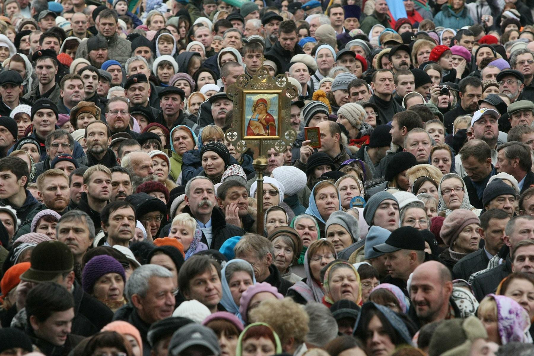Большинство граждан России считают, что наш народ— един
