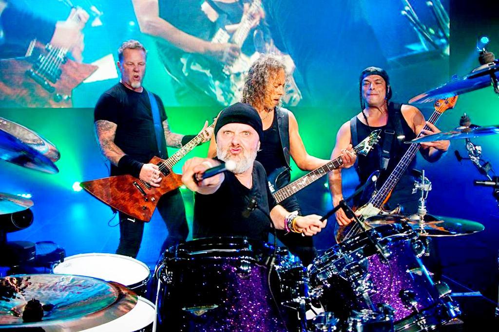 Metallica стала наиболее востребованной рок-группой вмире