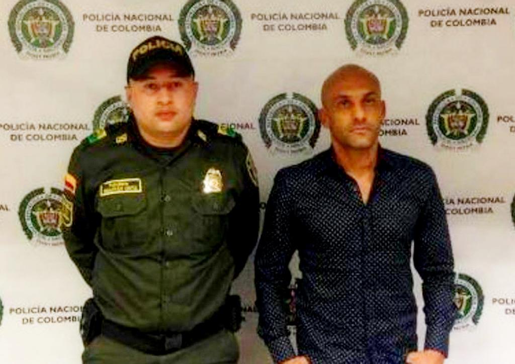 Прежнего игрока сборной Колумбии арестовали при транспортировке наркотиков