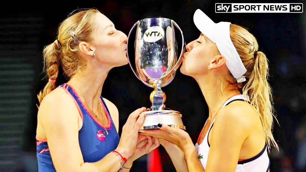 Веснина иМакарова выиграли итоговый теннисный турнир года