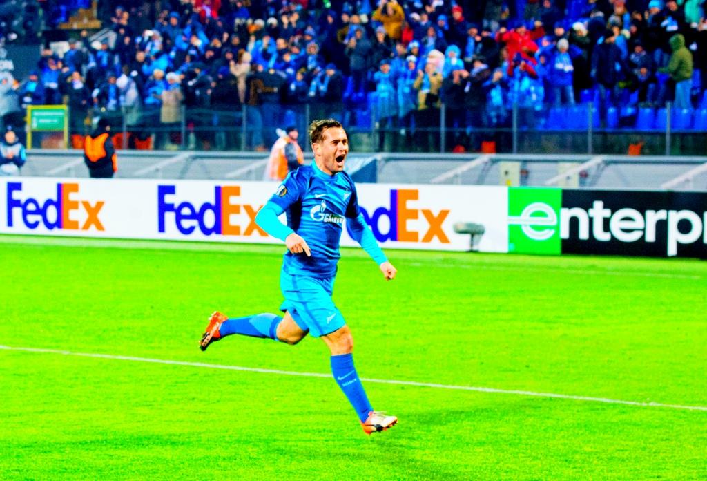 «Зенит» одержал победу пятый матч подряд вфутбольной Лиге Европы