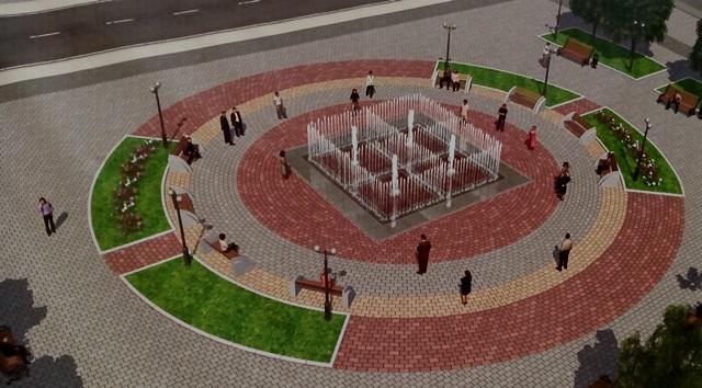 ВКировском районе построят фонтан наплощади 100 квадратных метров