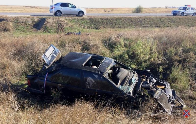 Под Волгоградом умер 32-летний шофёр БМВ