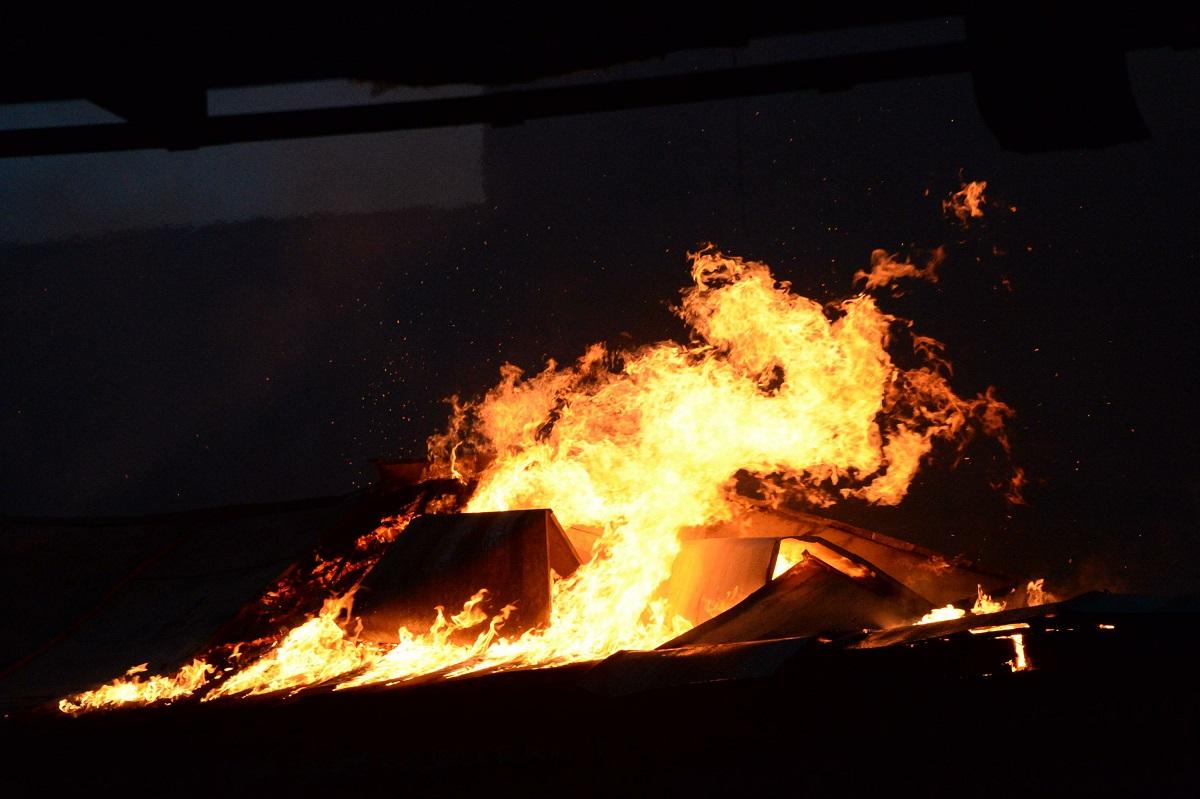 53-летний мужчина живьем сгорел напожаре под Волгоградом