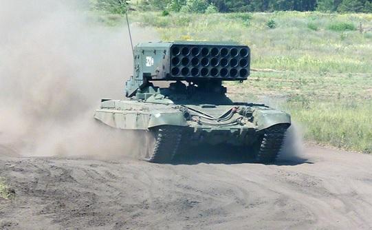 Учения с употреблением огнеметных систем «Солнцепек» прошли наюге Российской Федерации