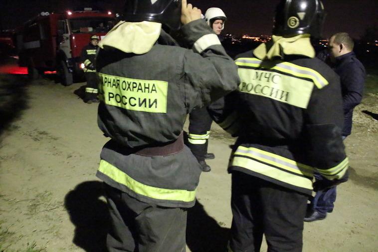 В Волгограде из-за курильщика в трехэтажном доме произошел пожар