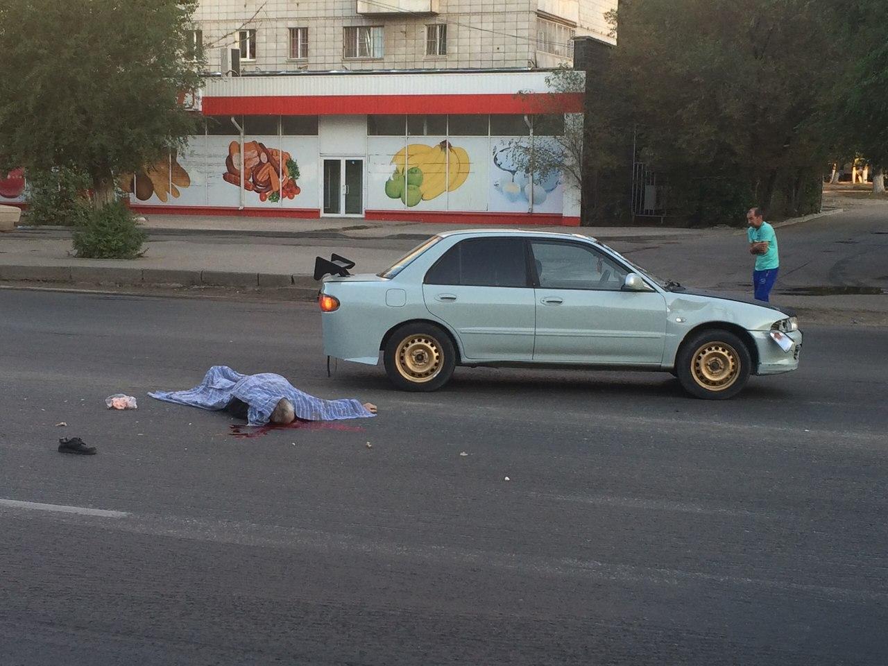 Насевере Волгограда старый велосипедист умер под колесами авто