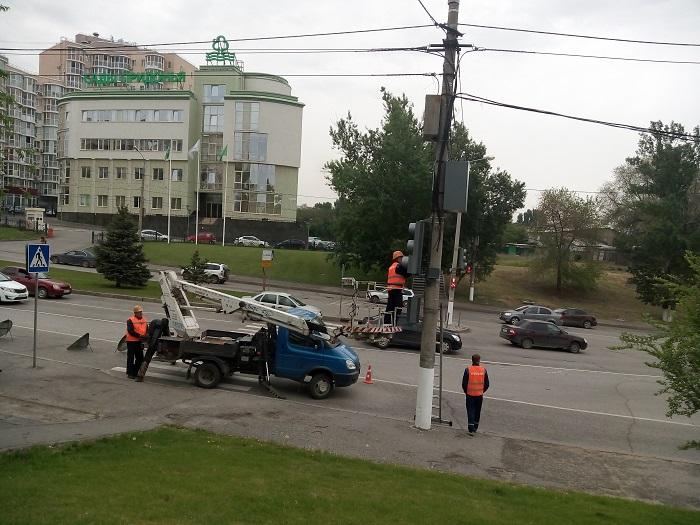 ВВолгограде установят 120 светофоров с противоположным отсчетом