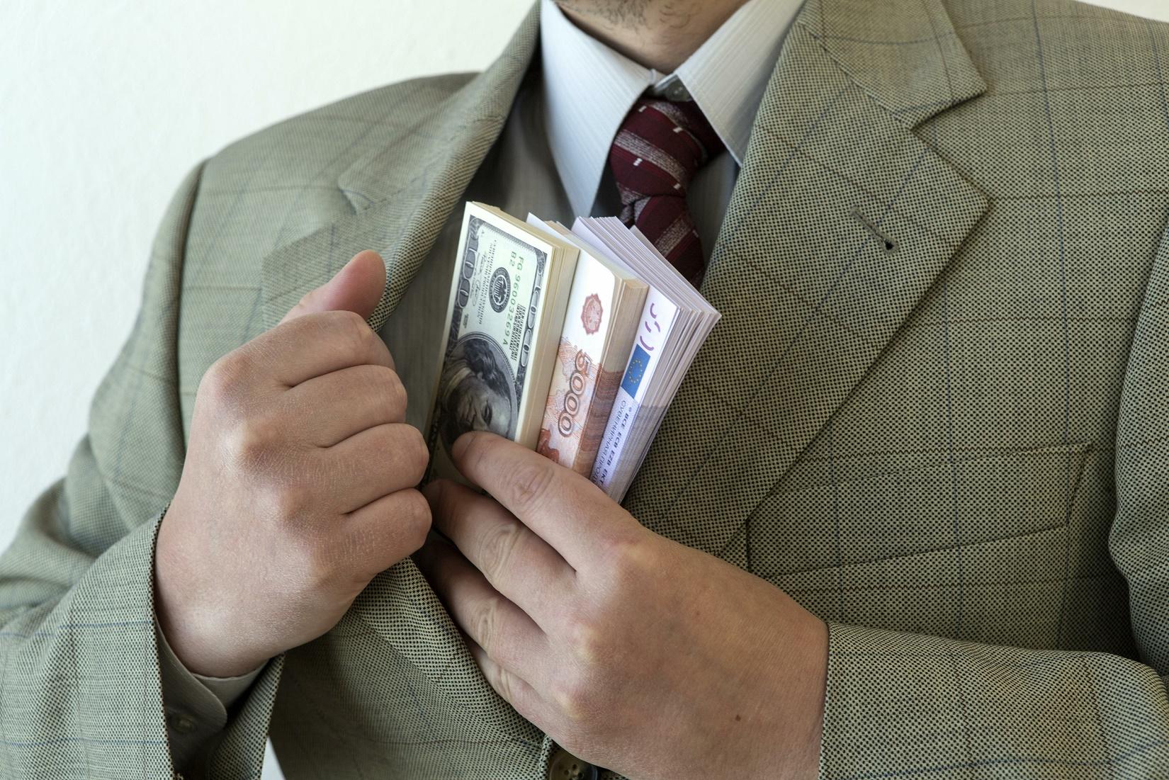 ВМВД назвали средний размер взятки в российской столице