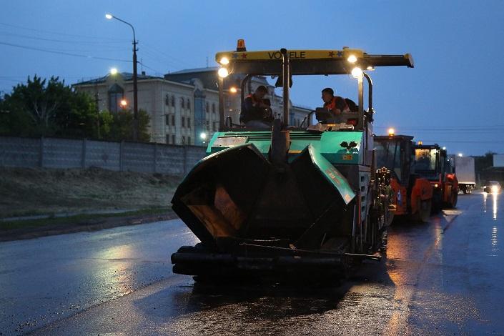 ВВолгограде ремонт 3-й продольной автодороги закончится осенью