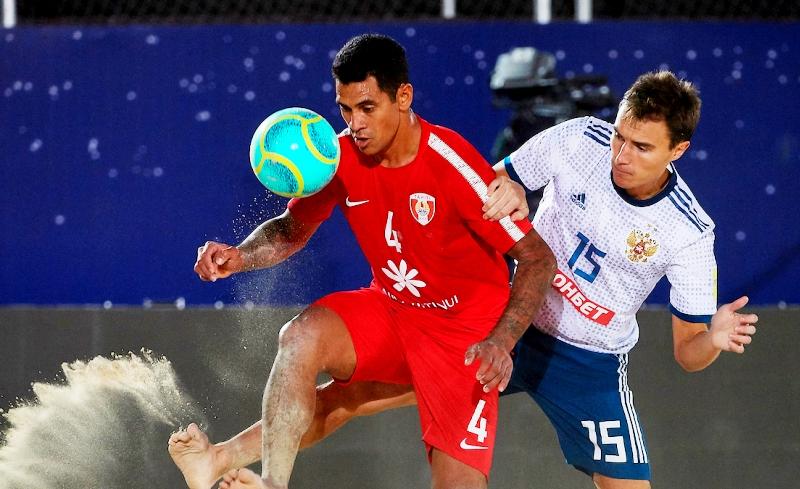 Сборная РФ попляжному футболу проиграла вфинале Межконтинентального кубка