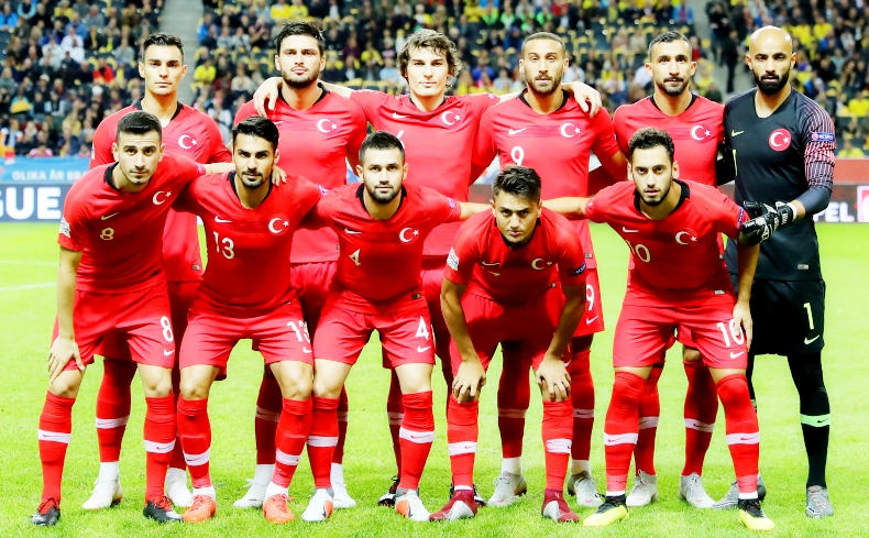 Футбол состав сборный испании против турции