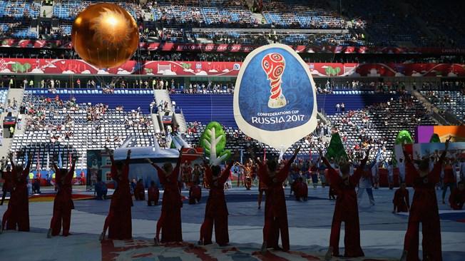 Назакрытии Кубка конфедераций 2июля выступятDJ Smash иПолина Гагарина