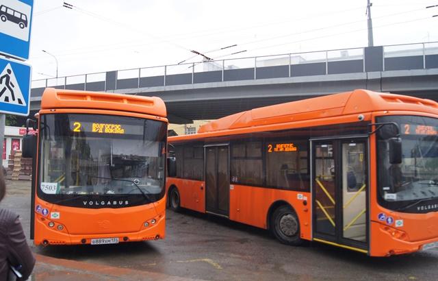 20 новых автобусов вышли намаршруты №2, 6 и21