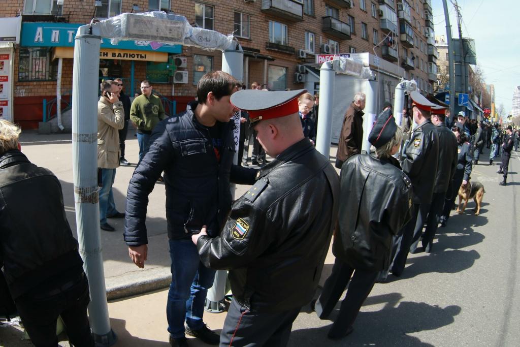 Полторы тысячи полицейских будут обеспечивать порядок вВолгограде наПервомай