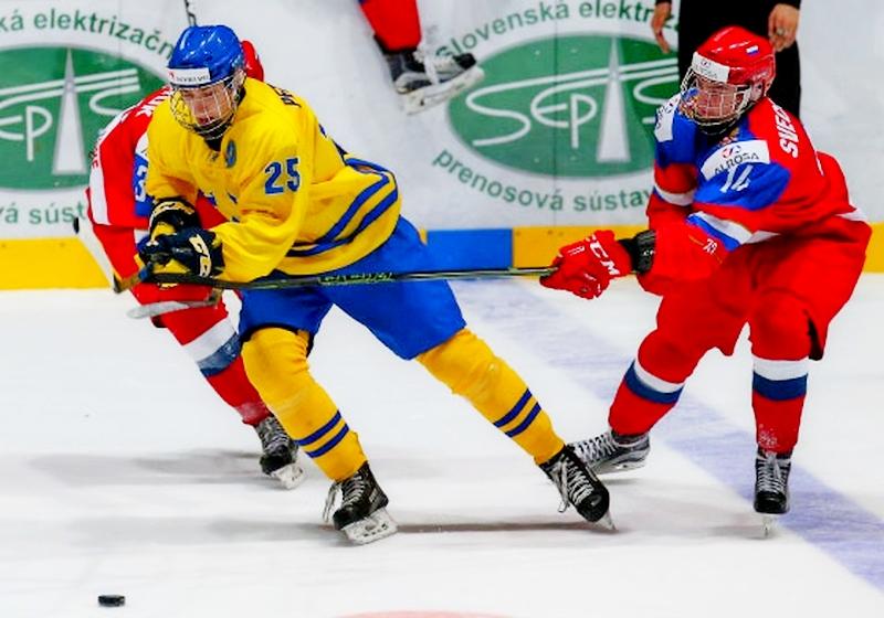 Юношеская сборная России похоккею обыграла шведов встартовом матчеЧМ