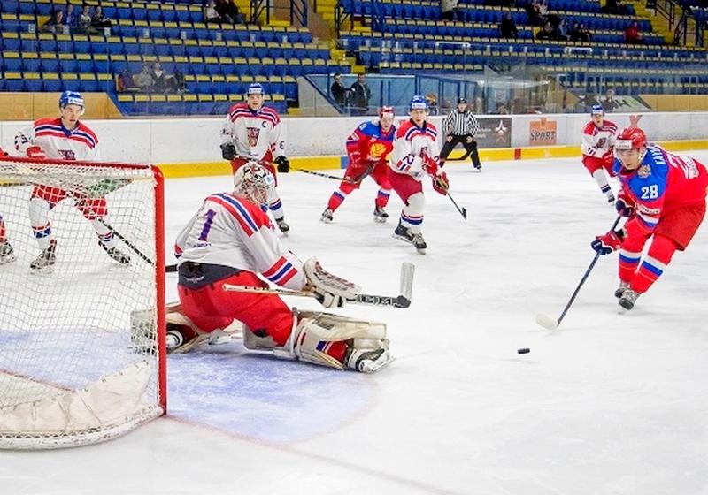 Молодежная сборная РФ похоккею обыграла чехов наТурнире четырех наций