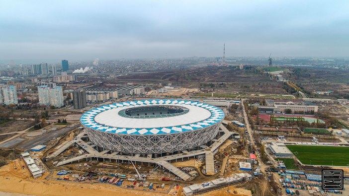 Открытие «Волгоград Арены»: «Ротор» 21апреля проведет матч