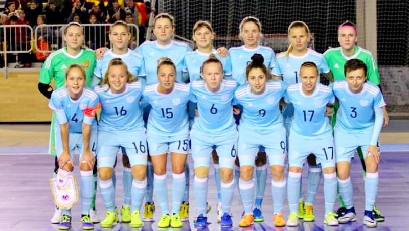 Россиянки победили Италию наТурнире четырёх наций помини-футболу