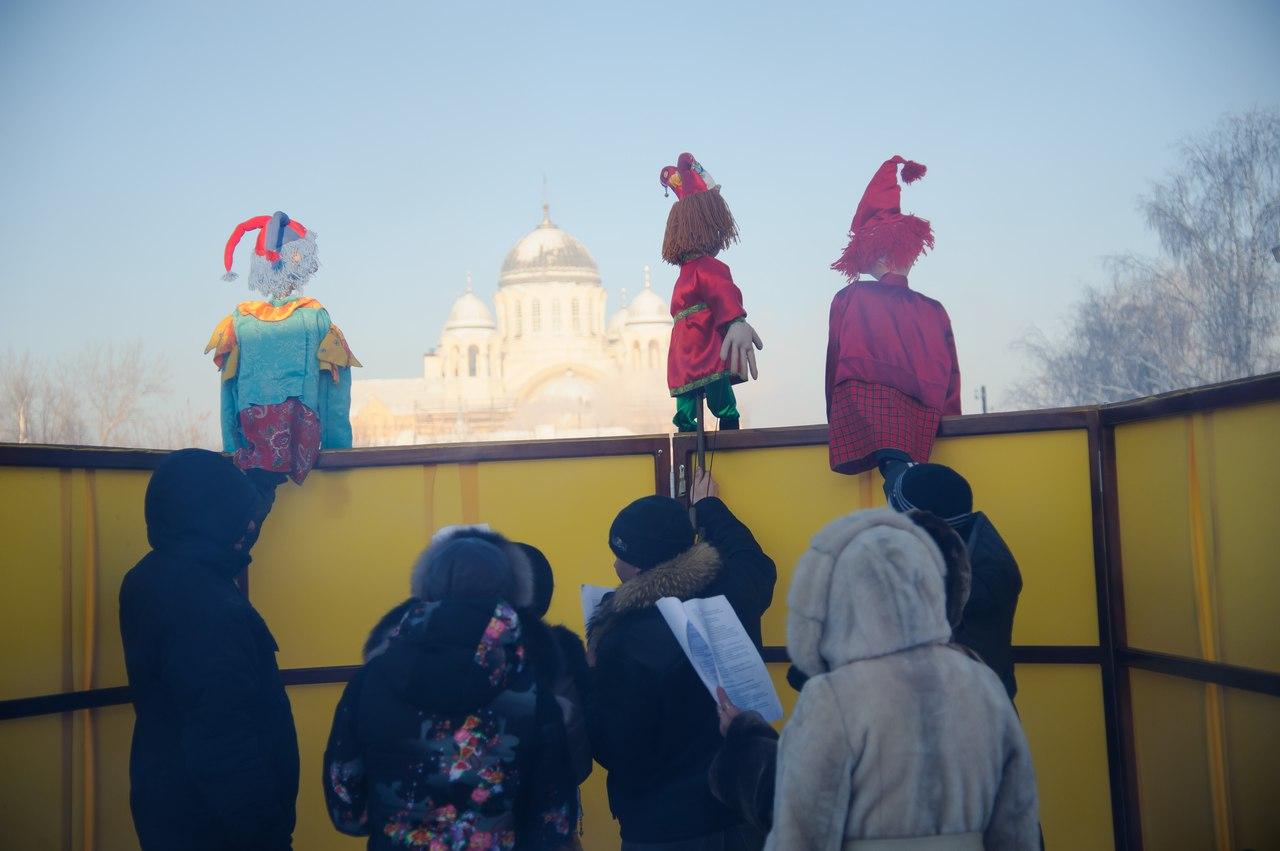 Вхрамах Волгограда пройдут рождественские гулянья