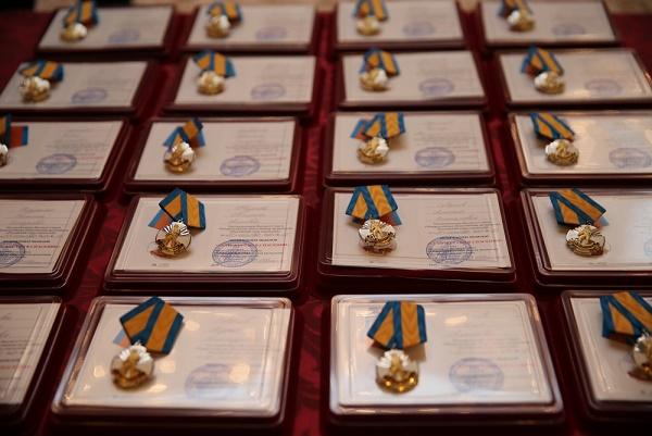 Юле Черновой вКремле вручили медаль «Замужество вспасении»