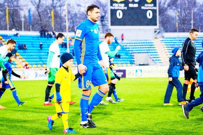 Александр Гацкан втретий раз подряд признан лучшим футболистом года вМолдавии