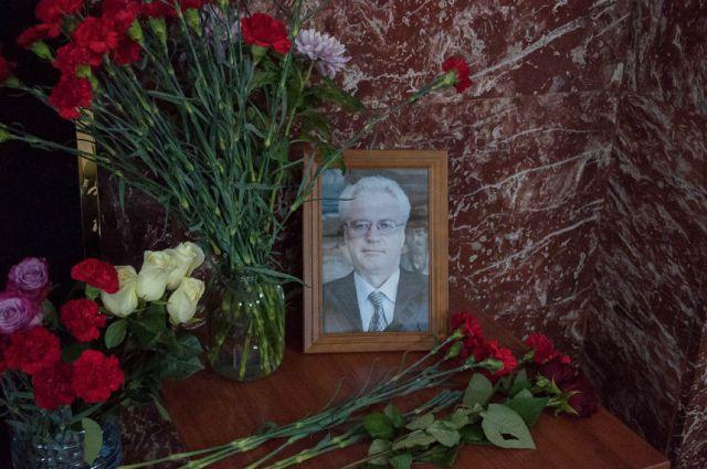 ВНью-Йорке прошла церемония прощания сВиталием Чуркиным