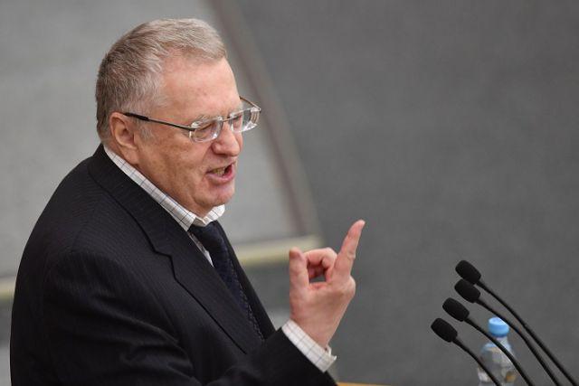 Народные избранники ЛДПР покинули зал заседаний Государственной думы