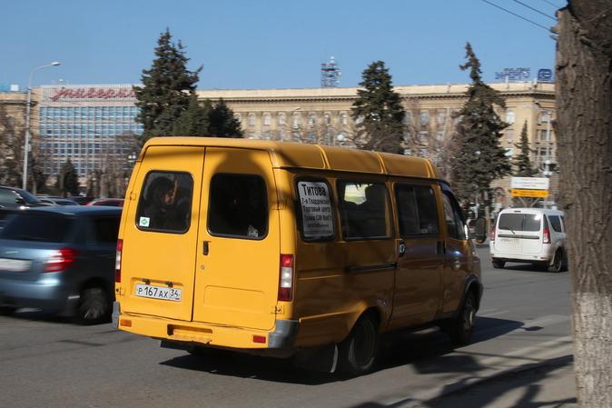 ВВолгограде вначале сократили, а после этого продлили маршрут №15а