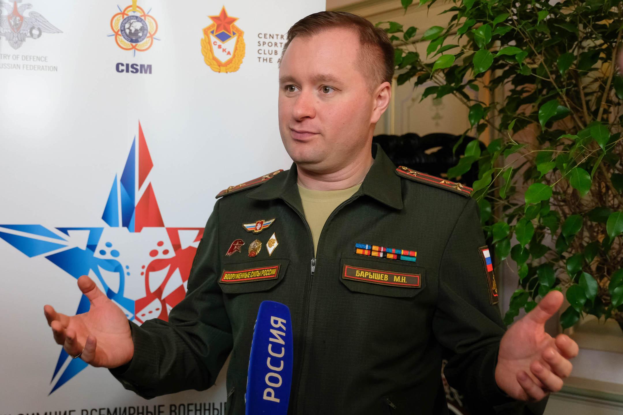 Алексей Воевода стал послом III зимних Всемирных военных игр вСочи