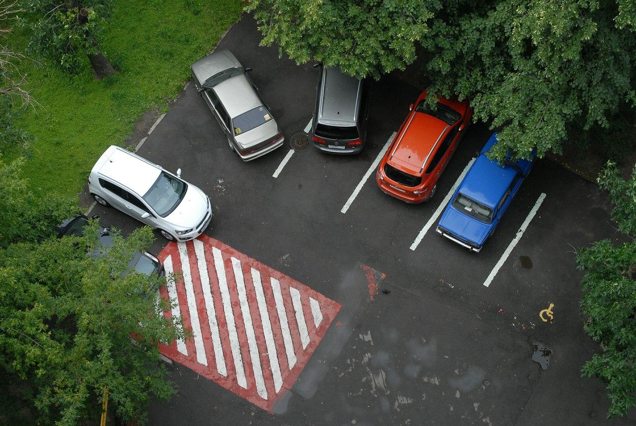 Многодетным иопекунам предлагают разрешить парковку наместах для людей сограниченными возможностями