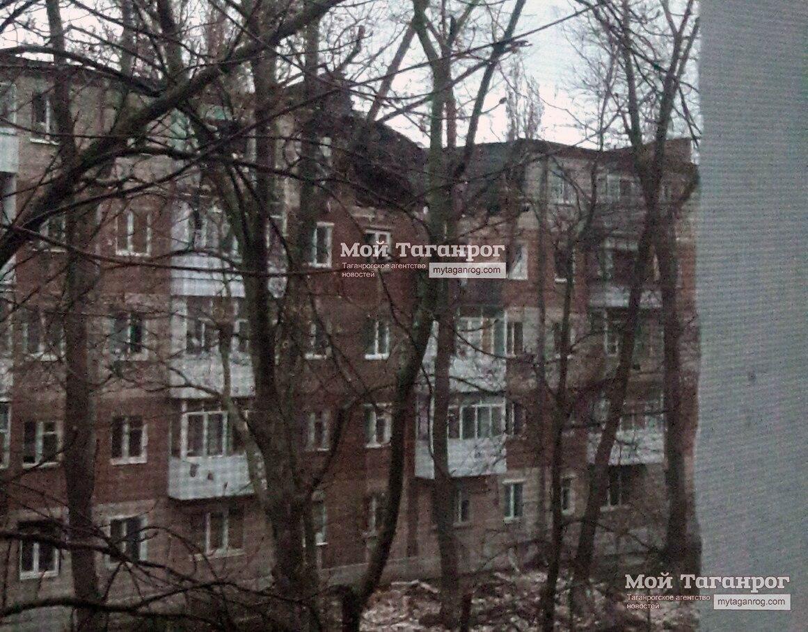Взрыв прогремел вмногоквартирном доме вТаганроге