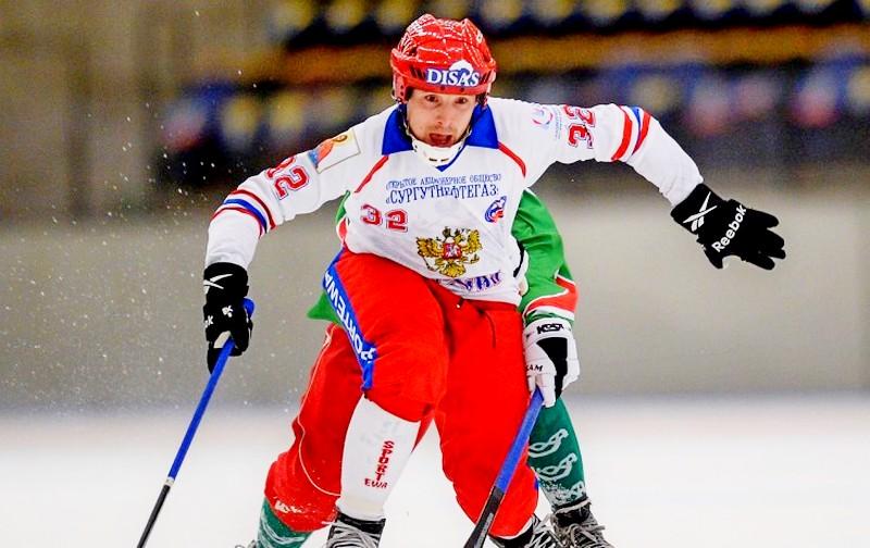 Хоккей смячом, чемпионат мира: Российская Федерация - Казахстан, счет 9:2