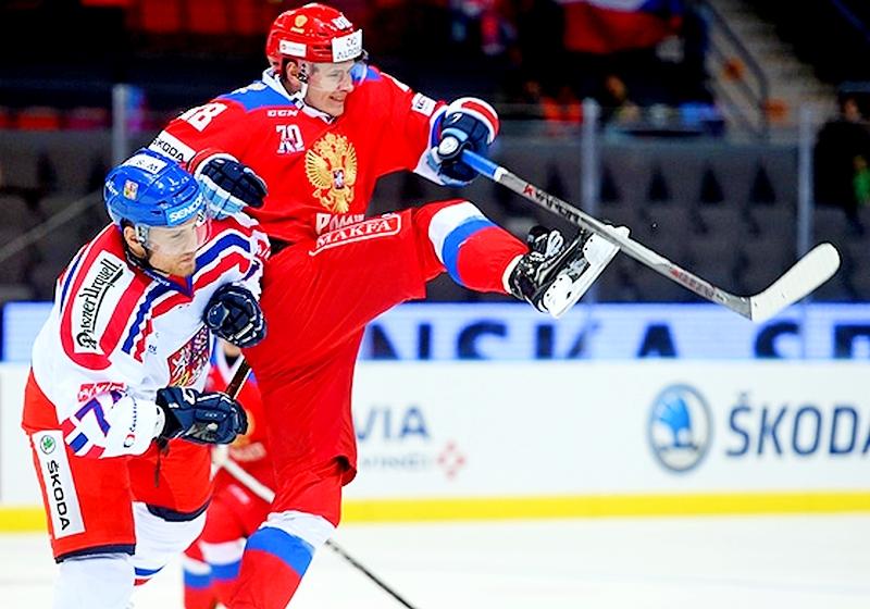 Сборная Российской Федерации похоккею преждевременно одолела вЕвротуре