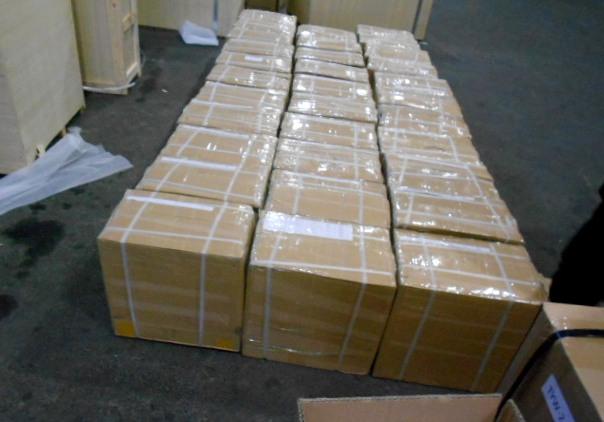 Ставропольские пограничники задержали 400кг контрабандных зубов изКитая