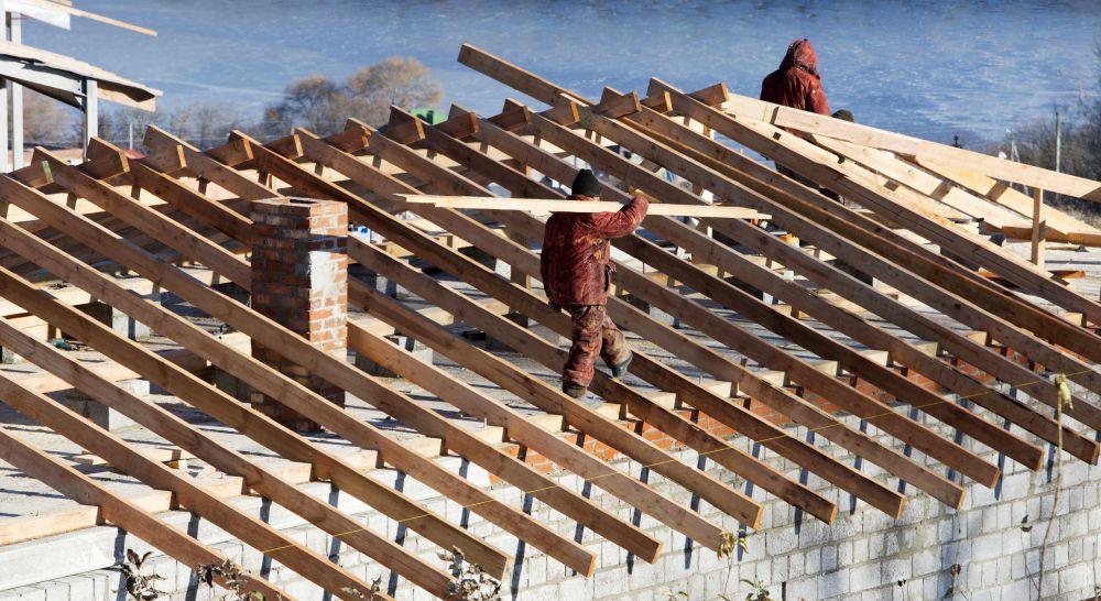 вот картинки перекрытия крыши поэтому