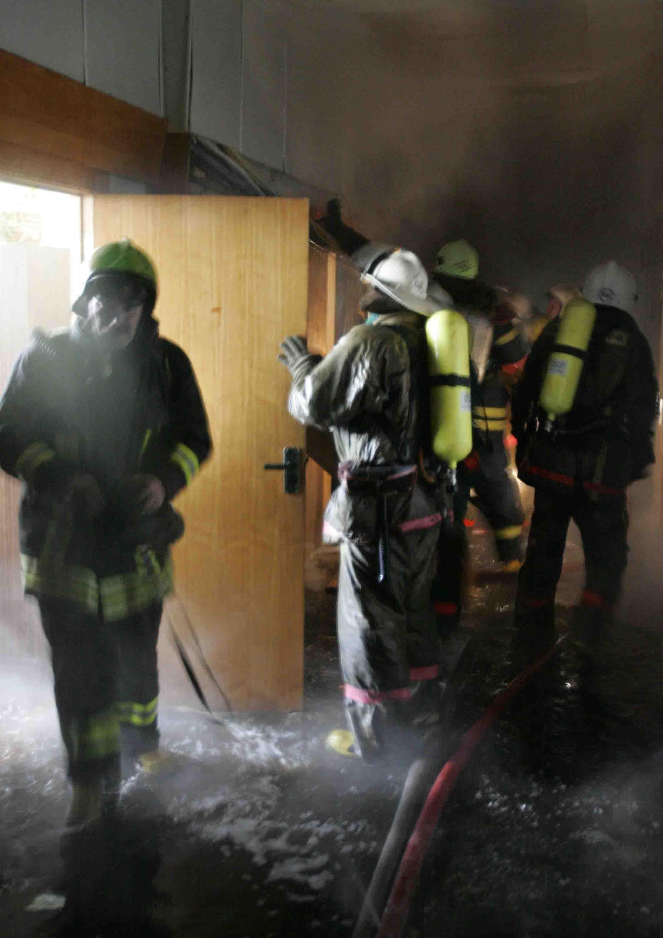 В Дзержинском районе Волгограда произошёл пожар