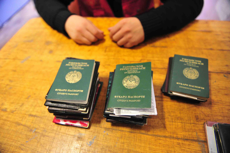 В Волгоградской области задержали мигрантов