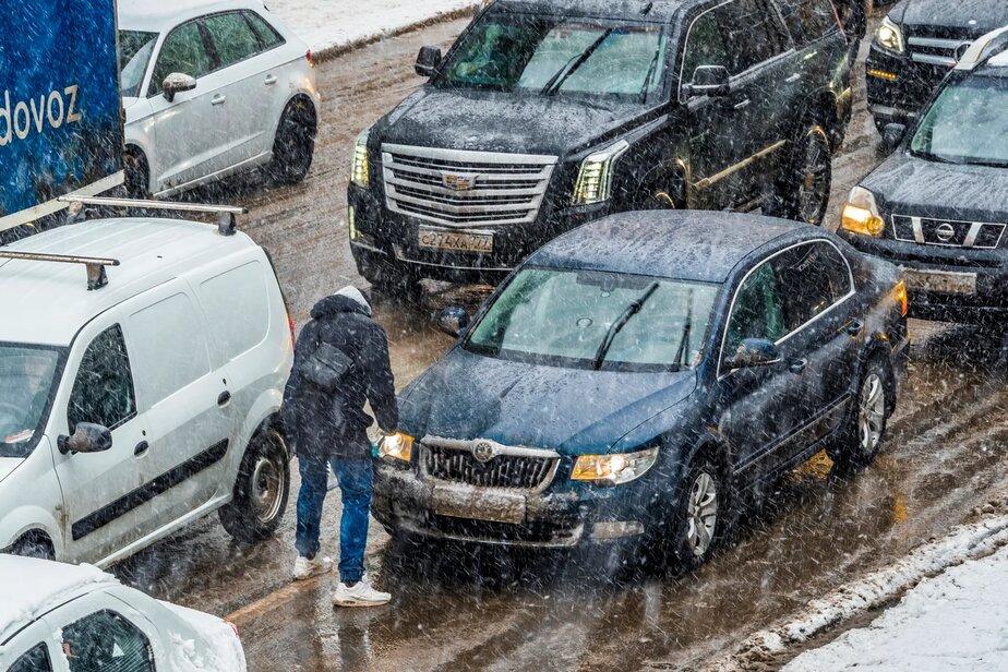 На Волгоградскую область в очередной раз надвигается снегопад с метелью