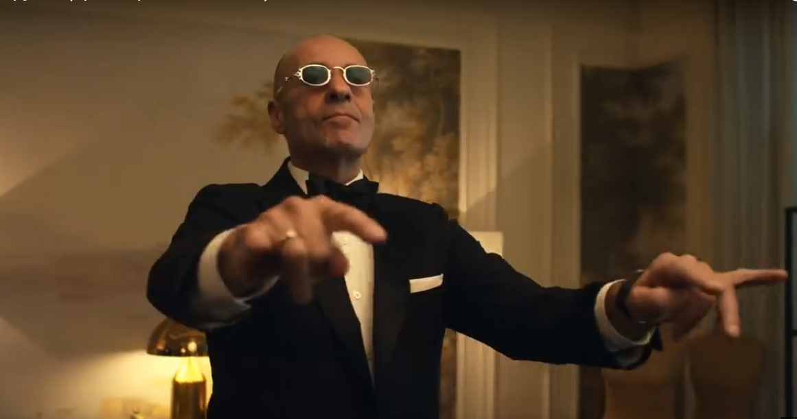 Игорь Крутой танцует хип-хоп в клипе Егора Крида «Крутой»