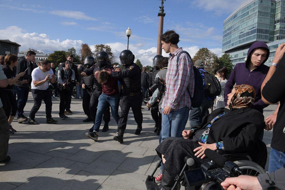 Митинги в Москве / GlobalLookPress