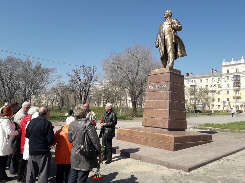 Волгоградские коммунисты отметили день рождения Ленина