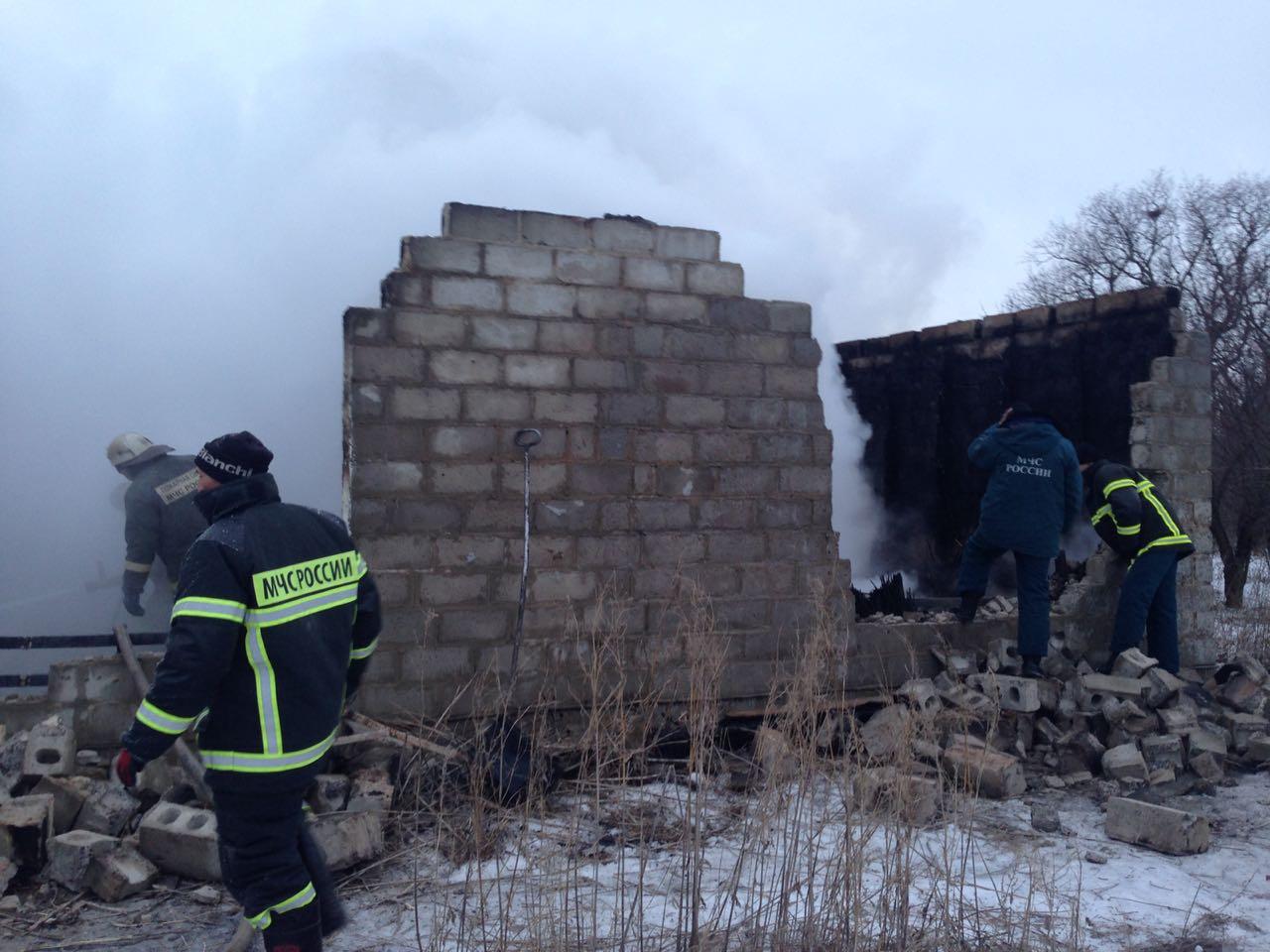 В Волгоградской области при пожаре снова погиб ребёнок