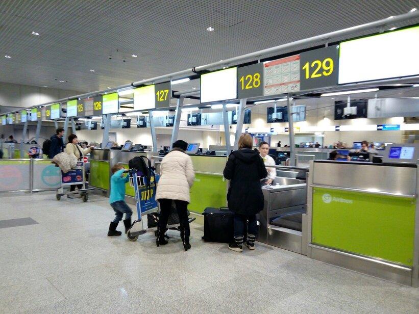 Волгоградский аэропорт из-за непогоды работает по факту