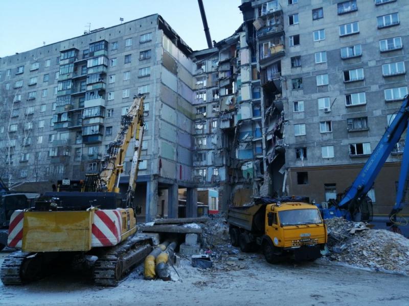 Президент России поручил полностью расселить и снести дом после взрыва в Магнитогорске