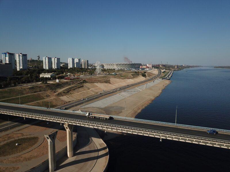 Проект второй очереди моста через Волгу в Волгограде переработают за 38 миллионов