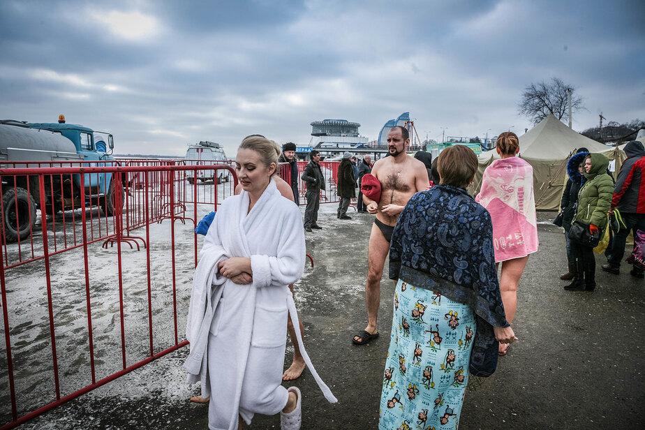 Синоптики в Волгограде прогнозируют на Крещение нулевую температуру