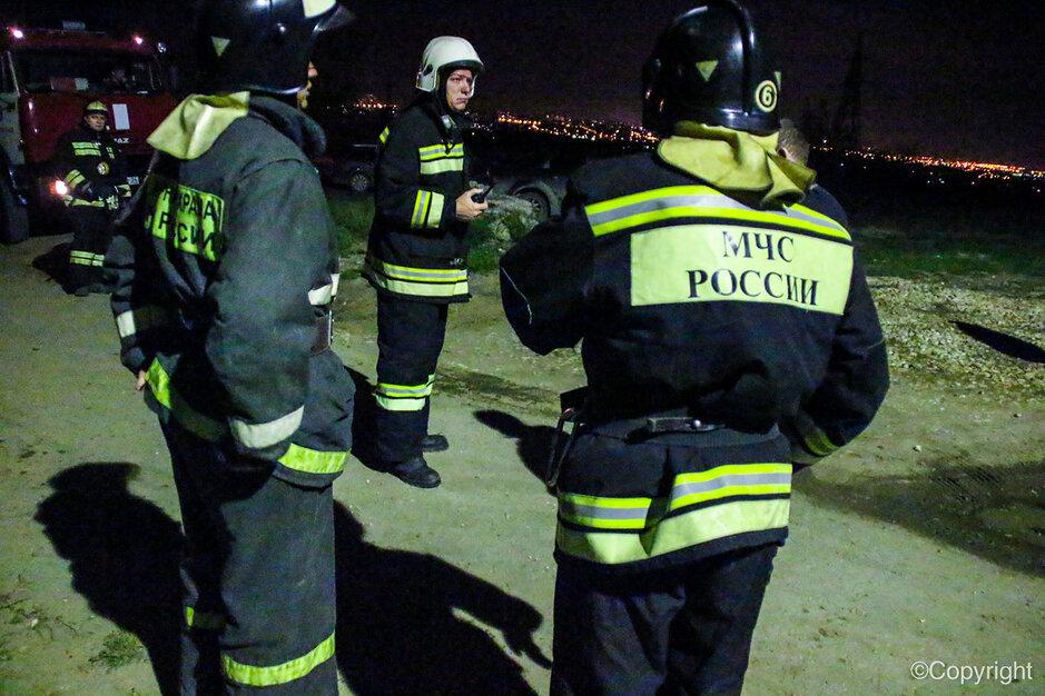 В Волгограде достали из пожара 5 человек